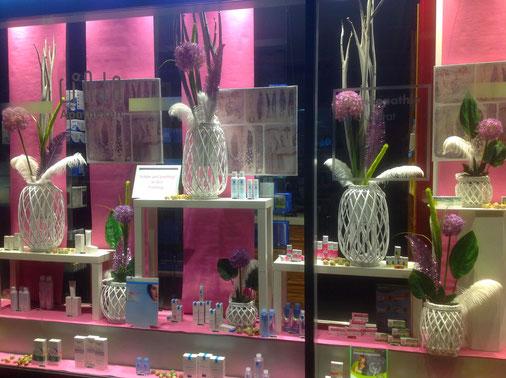 Schaufensterdekoration apotheken dekoration mannheim for Schaufenster weihnachtsdeko