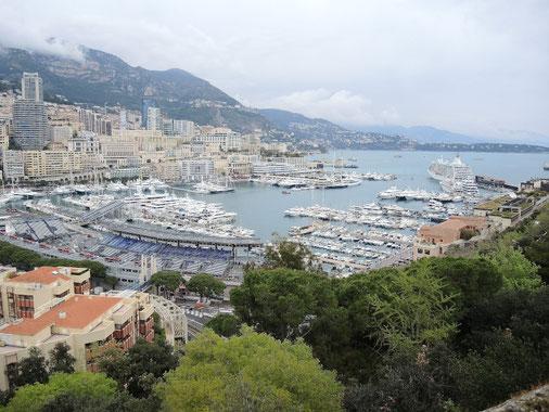 die große Bucht von Cannes