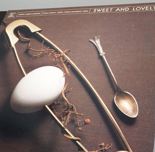 【八城一夫(P)、河上修(B)「Sweet And Lovely」】1977年LP