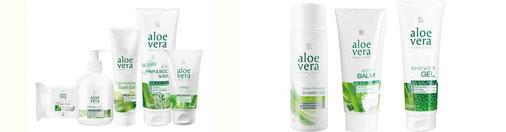 Set Aloe Vera cheveux et corps ou aloe vera set de base lavage  de LR