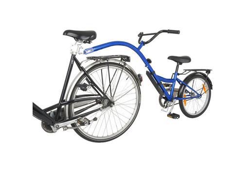 20 Zoll Mitläufer mit Freilaufnabe – Lydias Fahrradverleih auf Sylt