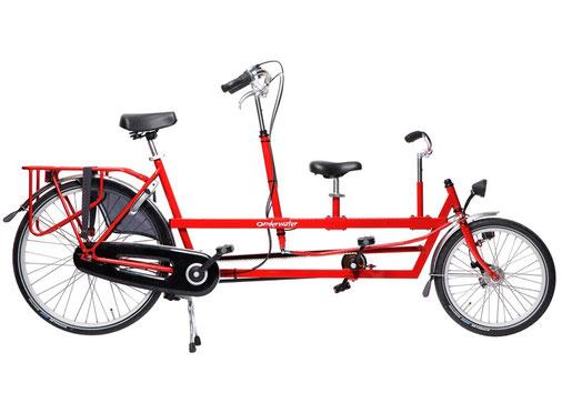Familientandem – Lydias Fahrradverleih auf Sylt