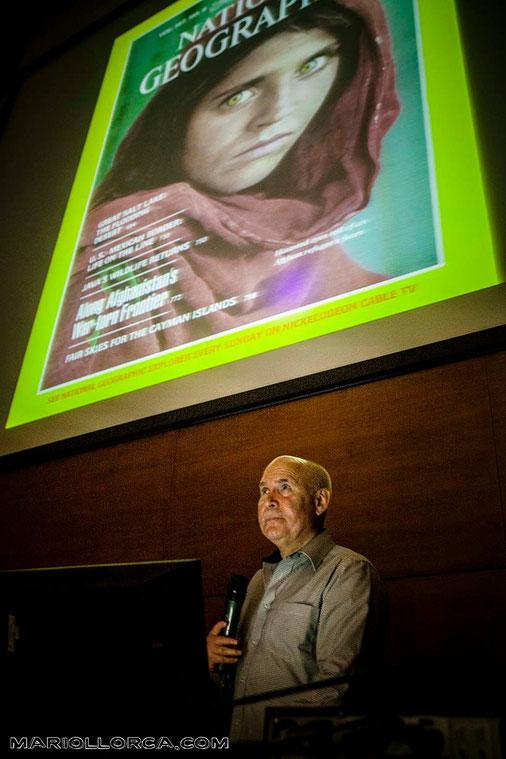 Steve McCurry. Università degli Studi di Siena. Lectio Magistralis.