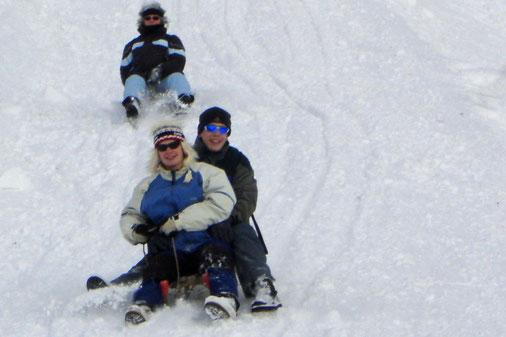 Schlitteln in Grindelwald 2008