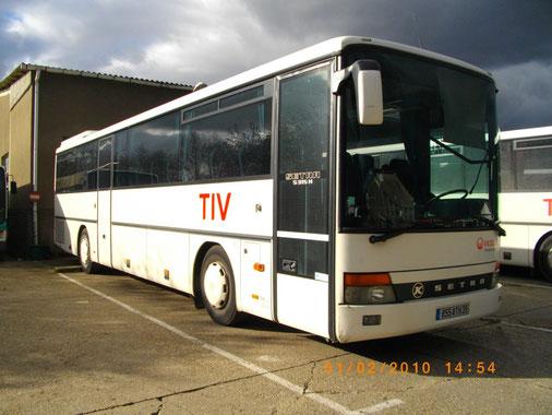 Setra S35H 855 ATH 35 - Dépôt TIV - Véolia - Photo Vieuxgo