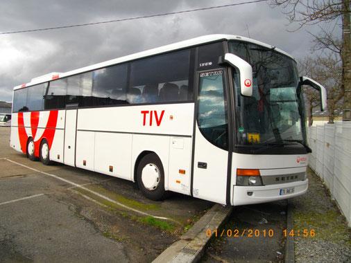 Setra 317 GT-HD - 70 BAE 35 - Dépôt TIV - Véolia - Photo Vieuxgo