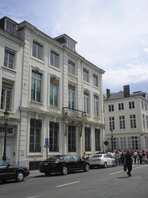 Les ch teaux de la famille de mee s en belgique for Au jardin du gouverneur