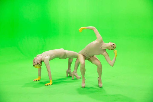 Gauthier Dance Company / Eric Gauthier / Liliana Barros / Augmented reality experience