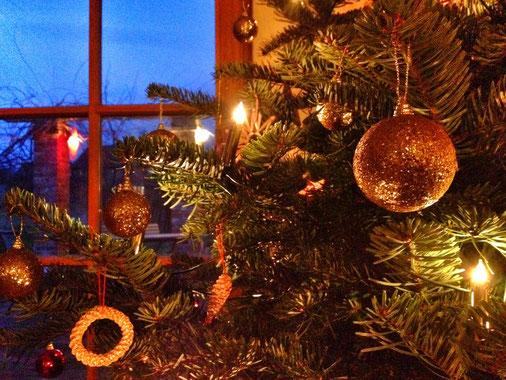 Frohe Weihnachten aus Rauschendorf an alle.