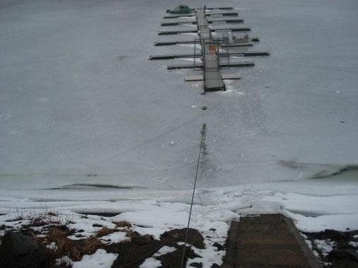 Unser Steg in Eis und Schnee (Mazikowski)