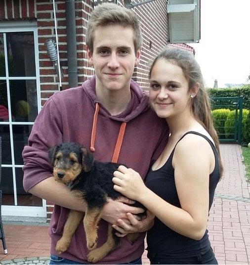 Lea und Thomas mit Ayka