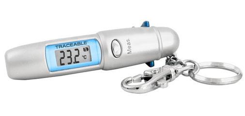 Termómetro infrarrojo portátil con certificado trazable a NIST 4480