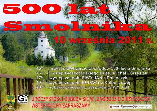 500 lat smolnika