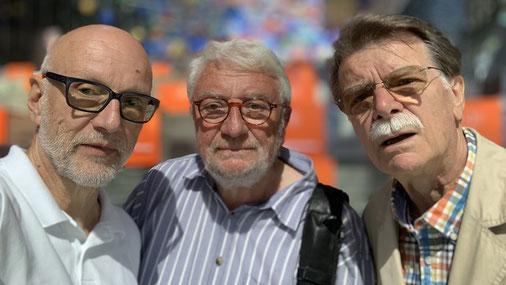 Rolf Leuenberger CHE, Bernhard Lindner DEU, Horst Hubbauer AUT