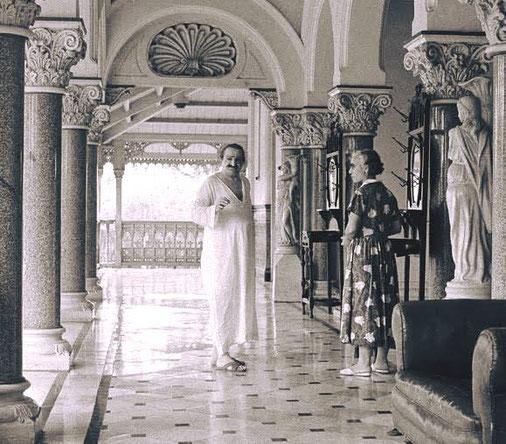 Guruprasad : Meher Baba with Dr. Goher Irani