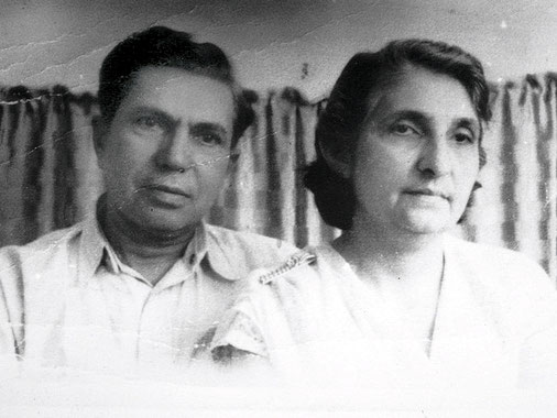 Savak & his wife Nergis. Courtesy of MN Publ.