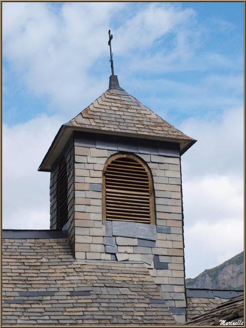 Clocher de la chapelle du hameau de Gabas, Vallée d'Ossau (64)