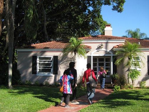 フロリダ:デビッドさん家でホームパーティー