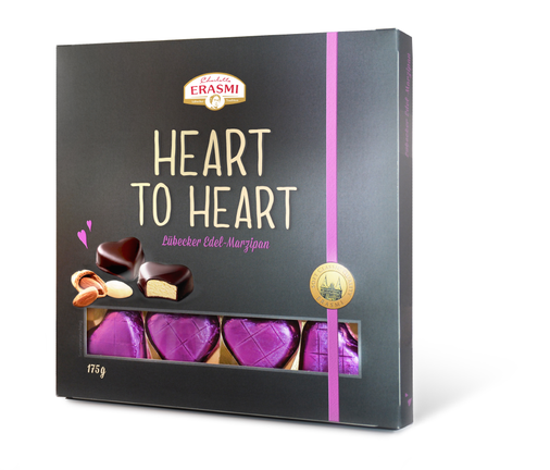 Carstens -  Hearth to Heart - Lübecker Edel Marzipan - Geschenk - Verpackung - Packaging - Design - DesignKis