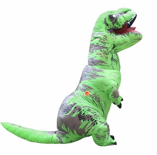 mascotte Dinosauro Roma