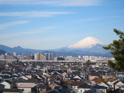 富士山 茅ヶ崎から