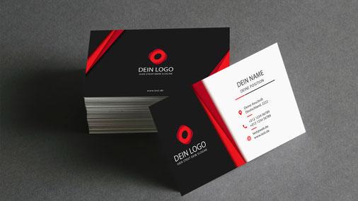So Müssen Deine Visitenkarten Aussehen Null Projekt