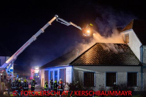 Feuerwehr; Blaulicht; Fotokerschi.at; Großbrand; Wolfern;