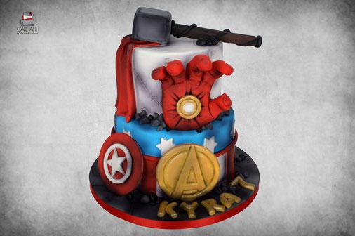 Heroes cake