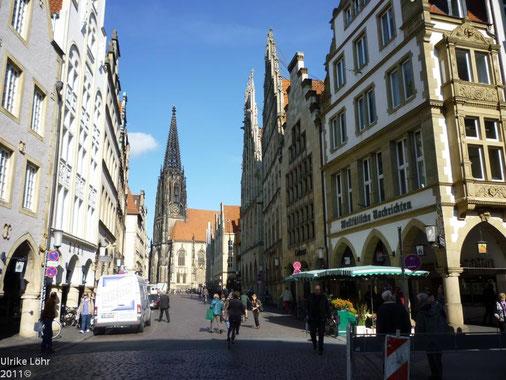 Prinzipalmarkt in Münster