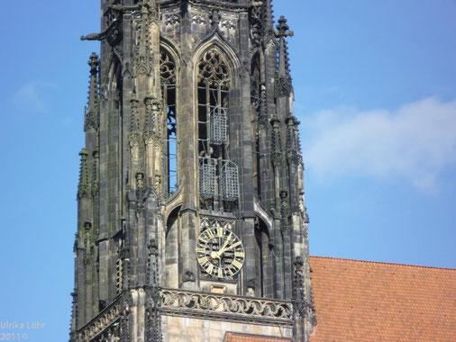 Täuferkäfige am Turm von St. Lamberti