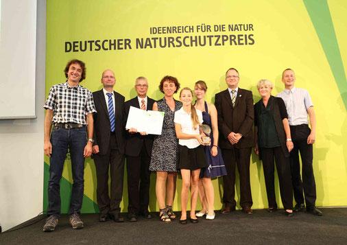 Verleihung des Deutschen Naturschutzpreises 2013 in Bonn