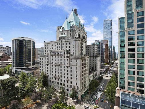 会場のFAIRMONT HOTEL VANCOUVER