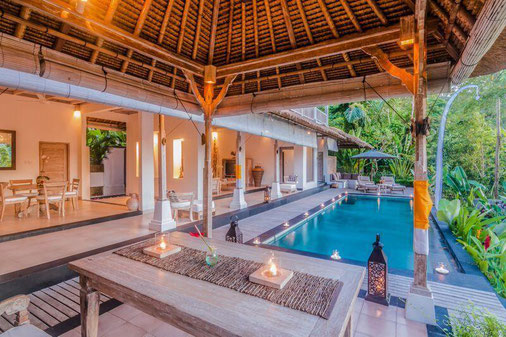 Ubud villa for rent with 3 bedrooms. Villa for rent by owner