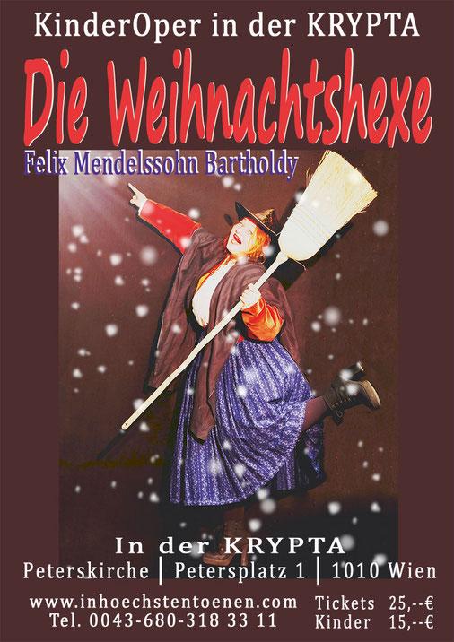 DIE WEIHNACHTSHEXE - Felix Mendelssohn Bartholdy, KinderOPER in der KRYPTA