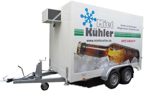 Kühlanhänger extra gross Jumbo Nürnberg XL