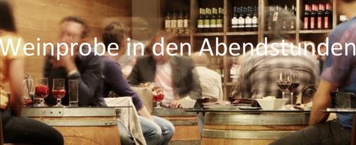 Eine Weinprobe an der Ahr in den Abendstunden in Ahrweiler im Ahrweindepot oder in freier Natur.