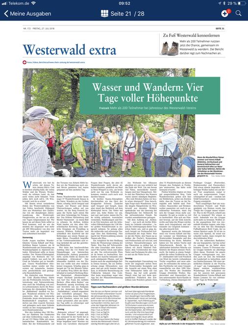 (c) 2018 Rhein Zeitung / Westerwälder Zeitung