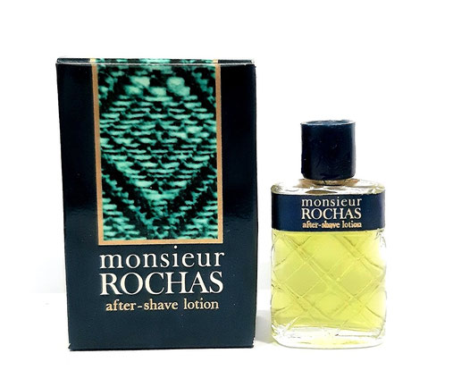 MONSIEUR ROCHAS - AFTER-SHAVE LOTION, MINIATURE ANCIENNE