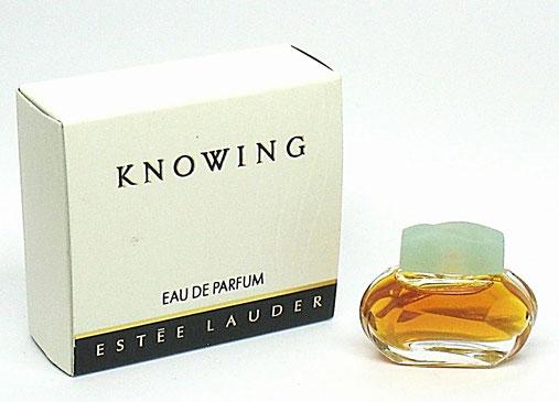 KNOWING - EAU DE PARFUM,  AVEC BOUCHON PLASTIQUE VERT CLAIR
