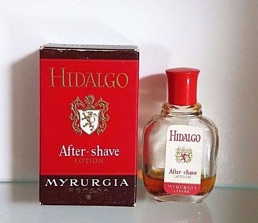 MYRURGIA - HIDALGO : MINIATURE AFTER-SHAVE LOTION