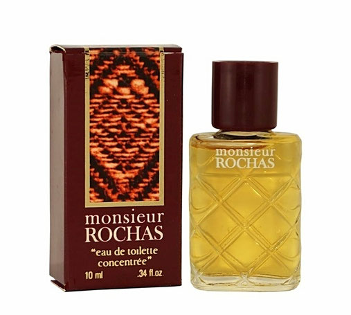 "MONSIEUR ROCHAS - ""EAU DE TOILETTE CONCENTREE"" 10 ML - BOÎTE DIFFERENTE DE LA PRECEDENTE PHOTO"