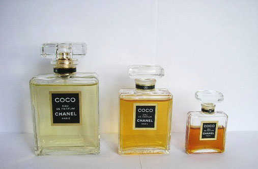COCO : 3 FLACONS DIFFERENTES TAILLES