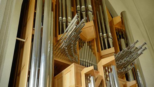 Orgel in Bonn gebaut