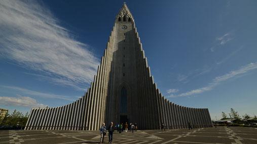 Hallgrimms-Kirche in Reykjavik