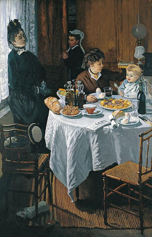 《昼食》1868年