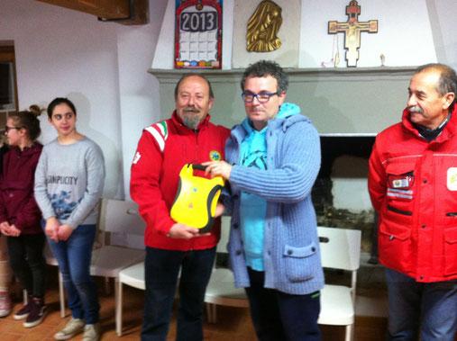 Donazione Defibrillatore all'Oratorio Don Bosco
