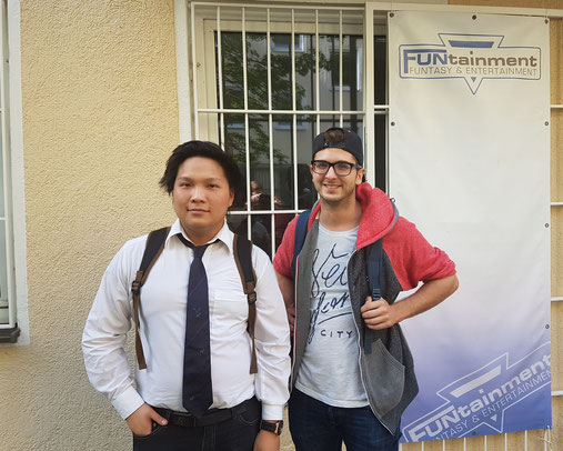 Die beiden Sieger, links Vinh Tran und rechts Dominik Tkocz