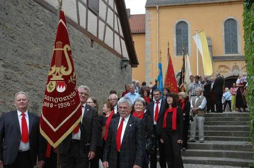 Festumzug von der Kirche zum Wasserschloss - 125-jähr. Jubiläum - 090613