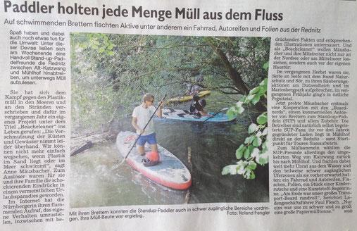 Nürnberger Nachrichten 15.08. 2016