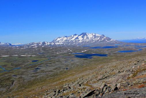 Sarek- und Stora Sjöfallet Nationalpark + Umgebung